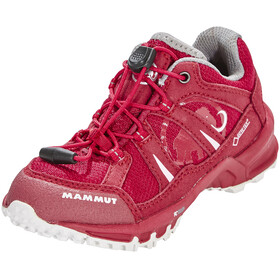 Mammut Kids First Low GTX Shoes dark magenta-white